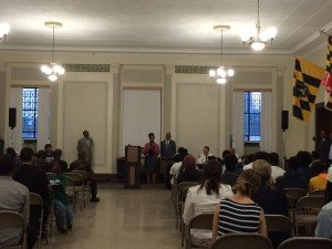 Youth Violence Forum Hosted by the Mayor's Office and the Baltimore City Police Department